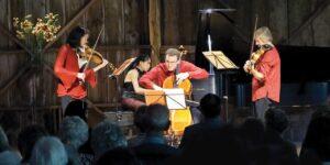 Garth Newel Piano Quartet by Scott Bartlett