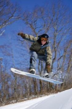 Snowboarder Omni Homestead
