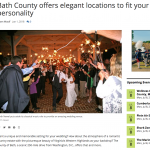 Bath County offers elegant locations to fit your personality