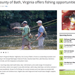 Bath County offers fishing opportunities