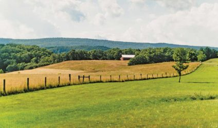Scenic views in Bath County, Va