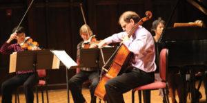 Garth Newel string quartet