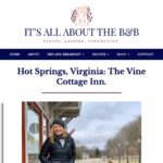 It's All About the B&B Blog
