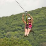 ziplining at The Omni Homestead Resort