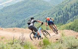 Natural Retreats mountain biking