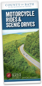 Motorcycle Rides and Scenic Drives brochure cover