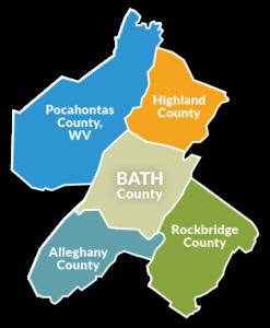 hub and spoke map