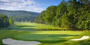 The Cascades golf course at The Omni Homestead Resort