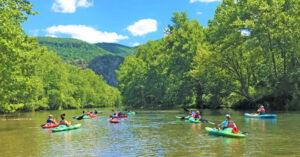 paddling the Jackson River