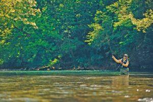 fly fishing in Bath County