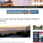 Recreation News Take an epic road trip through Virginia's Western Highlands