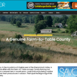 SavorVa.com A Genuine Farm-to-Table County