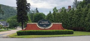 The Omni Homestead Sign
