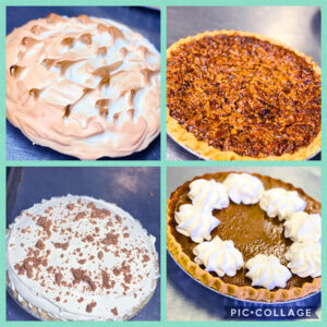 Country Cafe pies