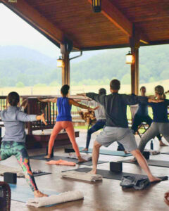 yoga at Fort Lewis Lodgee